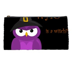 Who is a witch? - purple Pencil Cases