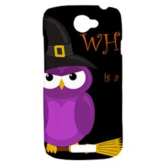 Who is a witch? - purple HTC One S Hardshell Case