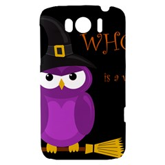 Who is a witch? - purple HTC Sensation XL Hardshell Case