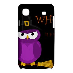 Who is a witch? - purple Samsung Galaxy SL i9003 Hardshell Case