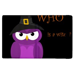 Who is a witch? - purple Apple iPad 2 Flip Case