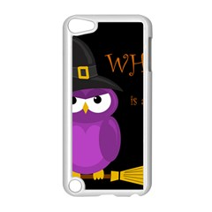 Who is a witch? - purple Apple iPod Touch 5 Case (White)
