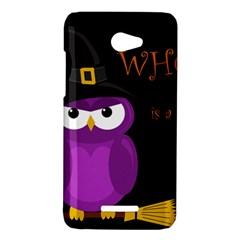 Who is a witch? - purple HTC Butterfly X920E Hardshell Case