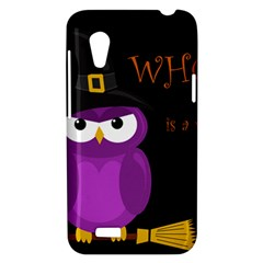 Who is a witch? - purple HTC Desire VT (T328T) Hardshell Case