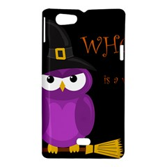 Who is a witch? - purple Sony Xperia Miro