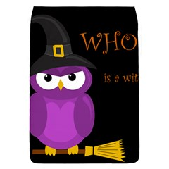 Who is a witch? - purple Flap Covers (S)