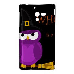 Who is a witch? - purple Sony Xperia ZL (L35H)