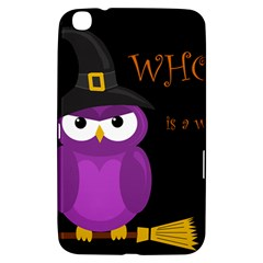 Who is a witch? - purple Samsung Galaxy Tab 3 (8 ) T3100 Hardshell Case