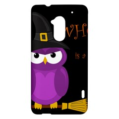 Who is a witch? - purple HTC One Max (T6) Hardshell Case