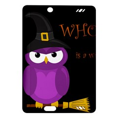 Who is a witch? - purple Amazon Kindle Fire HD (2013) Hardshell Case