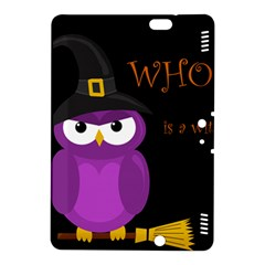 Who is a witch? - purple Kindle Fire HDX 8.9  Hardshell Case