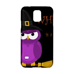 Who is a witch? - purple Samsung Galaxy S5 Hardshell Case