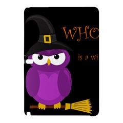 Who is a witch? - purple Samsung Galaxy Tab Pro 10.1 Hardshell Case