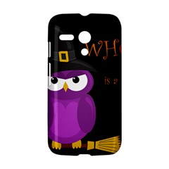 Who is a witch? - purple Motorola Moto G