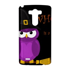 Who is a witch? - purple LG G3 Hardshell Case