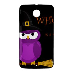 Who is a witch? - purple Nexus 6 Case (White)