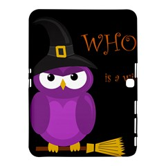 Who is a witch? - purple Samsung Galaxy Tab 4 (10.1 ) Hardshell Case