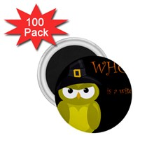 Who is a witch? - yellow 1.75  Magnets (100 pack)