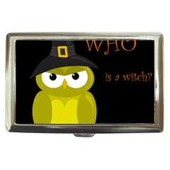 Who is a witch? - yellow Cigarette Money Cases
