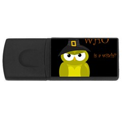 Who is a witch? - yellow USB Flash Drive Rectangular (2 GB)