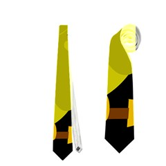 Who is a witch? - yellow Neckties (Two Side)
