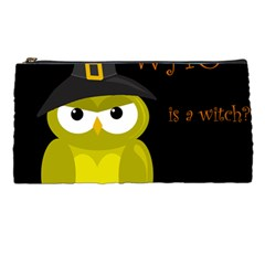 Who is a witch? - yellow Pencil Cases