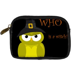 Who is a witch? - yellow Digital Camera Cases