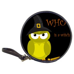 Who is a witch? - yellow Classic 20-CD Wallets