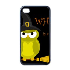 Who is a witch? - yellow Apple iPhone 4 Case (Black)