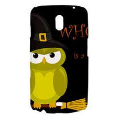 Who is a witch? - yellow Samsung Galaxy Nexus i9250 Hardshell Case