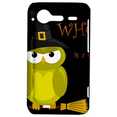 Who is a witch? - yellow HTC Incredible S Hardshell Case