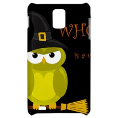 Who is a witch? - yellow Samsung Infuse 4G Hardshell Case