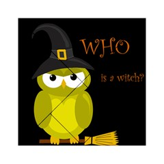 Who is a witch? - yellow Acrylic Tangram Puzzle (6  x 6 )