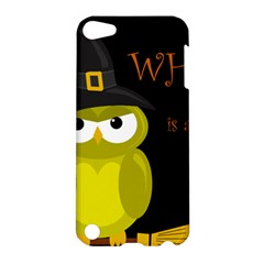 Who is a witch? - yellow Apple iPod Touch 5 Hardshell Case
