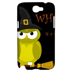 Who is a witch? - yellow Samsung Galaxy Note 2 Hardshell Case