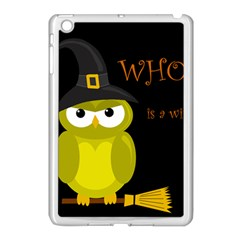 Who is a witch? - yellow Apple iPad Mini Case (White)