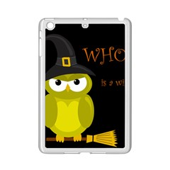Who is a witch? - yellow iPad Mini 2 Enamel Coated Cases