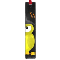 Who is a witch? - yellow Large Book Marks