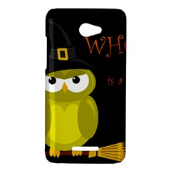 Who is a witch? - yellow HTC Butterfly X920E Hardshell Case
