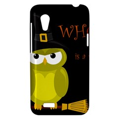 Who is a witch? - yellow HTC Desire VT (T328T) Hardshell Case
