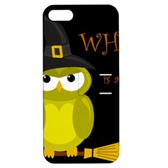 Who is a witch? - yellow Apple iPhone 5 Hardshell Case with Stand