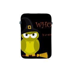 Who is a witch? - yellow Apple iPad Mini Protective Soft Cases