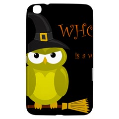 Who is a witch? - yellow Samsung Galaxy Tab 3 (8 ) T3100 Hardshell Case