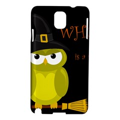 Who is a witch? - yellow Samsung Galaxy Note 3 N9005 Hardshell Case