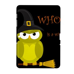 Who is a witch? - yellow Samsung Galaxy Tab 2 (10.1 ) P5100 Hardshell Case