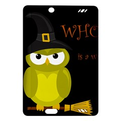 Who is a witch? - yellow Amazon Kindle Fire HD (2013) Hardshell Case