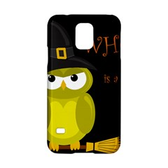 Who is a witch? - yellow Samsung Galaxy S5 Hardshell Case