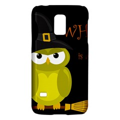 Who is a witch? - yellow Galaxy S5 Mini