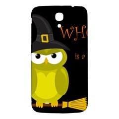Who is a witch? - yellow Samsung Galaxy Mega I9200 Hardshell Back Case