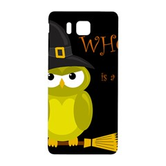 Who is a witch? - yellow Samsung Galaxy Alpha Hardshell Back Case